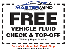 Free Vehicle Fluid Check and Top Off Denver