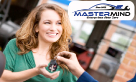 Be happy and Save money on auto services and repairs at Mastermind Enterprises Auto Care in Denver.