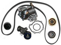 Timing Component Kit - Timing Belt, Tensioners, Pulleys, Water Pump - Replaced by Mastermind Enterprises in Denver