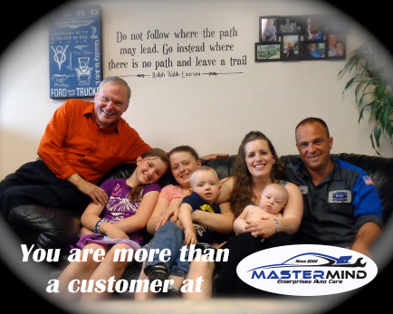 You are more than a customer at Mastermind Enterprises Auto Repair Shop in Denver